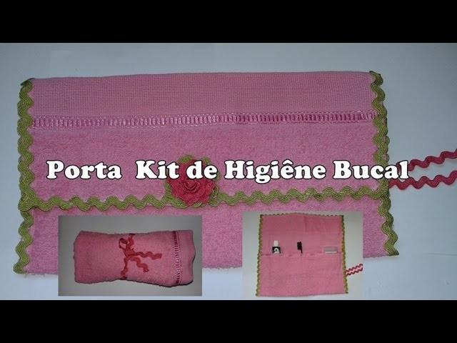Diy: Porta Kit de Higiene Bucal