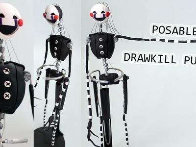 Drawkill Puppet (Marionette). MAR10NETT3 Posable Figure Tutorial | BudgetHobby Collaboration FNAF