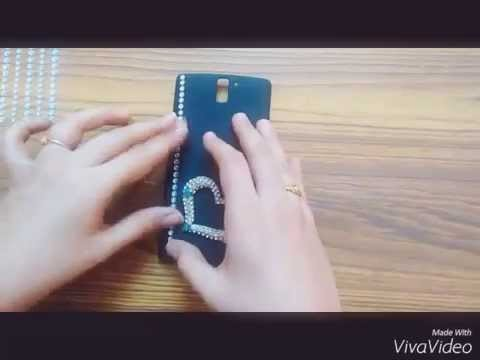 Easy DIY: mobile cover decoration for beginners.