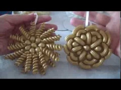 Girnaldas navideñas. Christmas tree decoration. proyecto 207