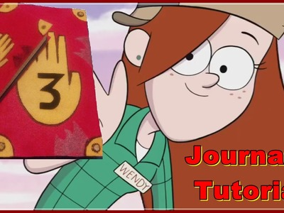 ---✂--- Gravity Falls DIY : Journal 3 Tutorial ---✂---