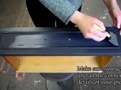 How to apply Liquid Patina - Debi's DIY Paint Finish