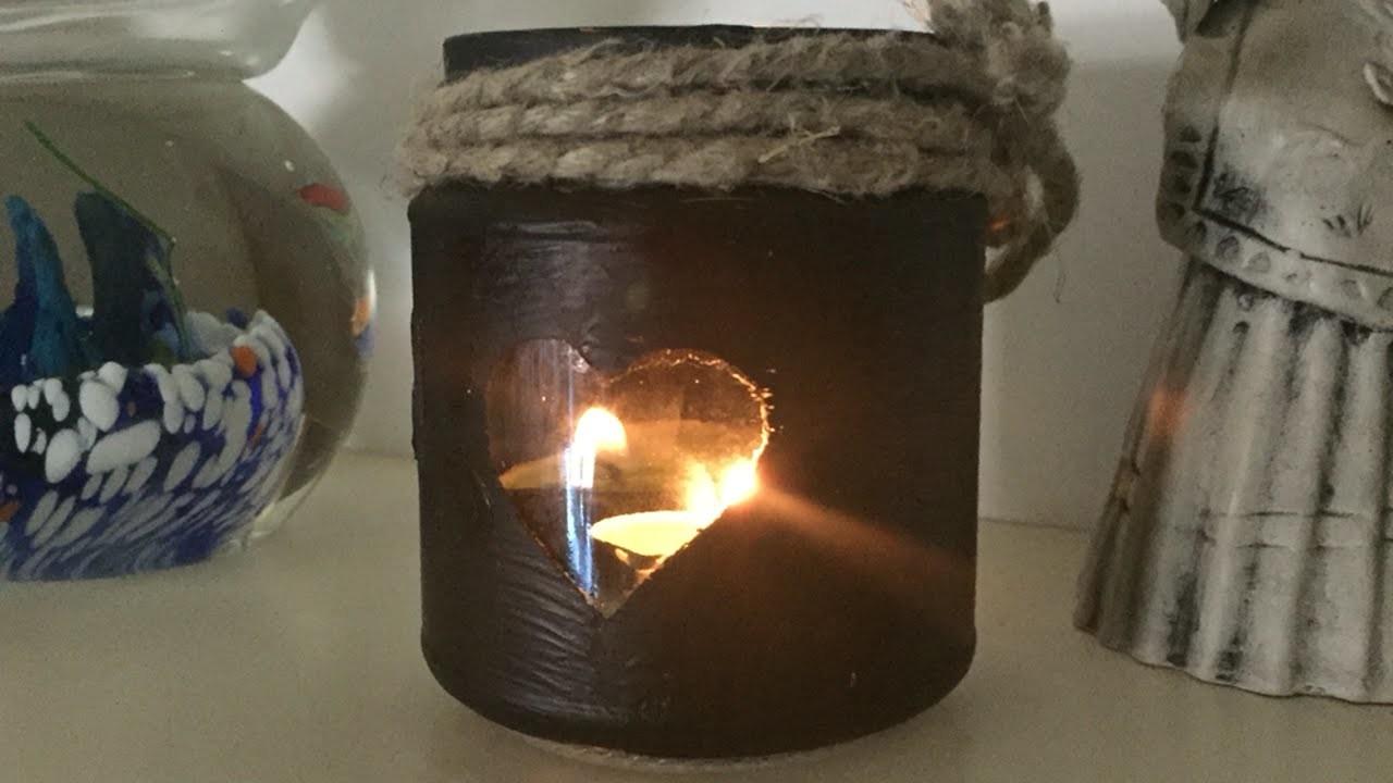 How To Create A Romantic Mason Jar Lantern - DIY Crafts Tutorial - Guidecentral