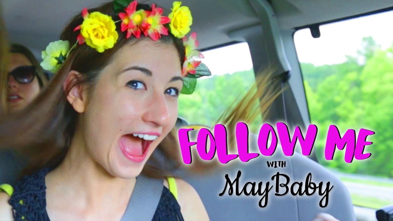 How To Make a Flower Crown w.MayBaby! - FOLLOW ME EP 10