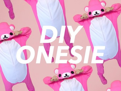 How to Make a Footed Onesie! (Kigurumi Rilakkuma style)