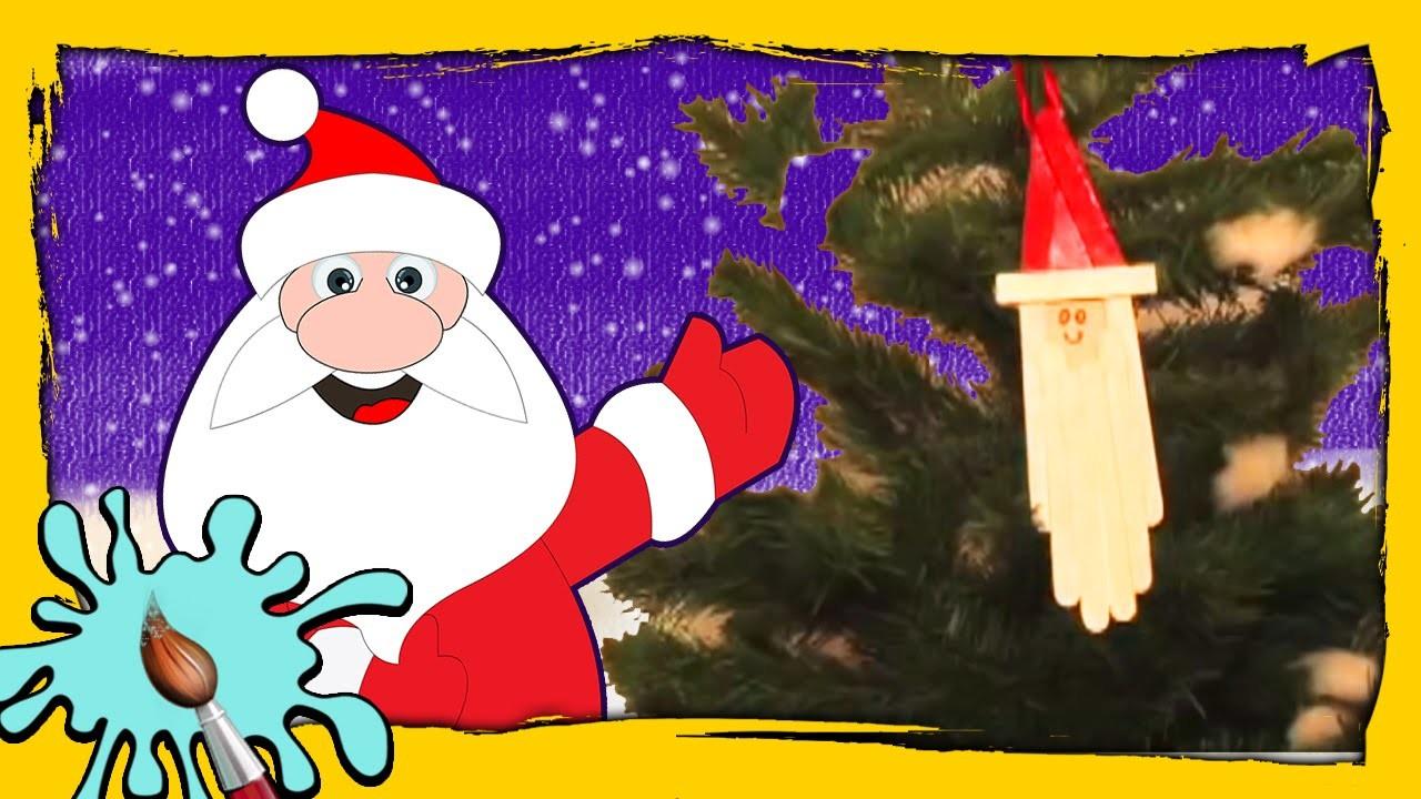 How to make a Santa Dangler | DIY Christmas Crafts | Easy Christmas Paper Crafts for Kids