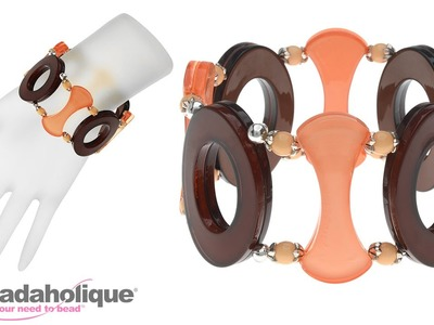 How to Make an Embellished Stretch Bracelet by Fernando DaSilva