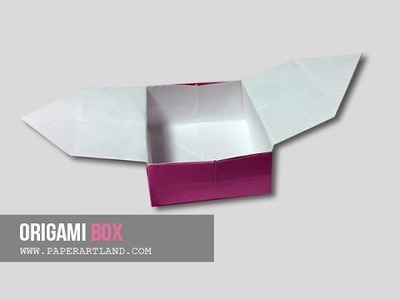 How to Make an Origami Box - Easy