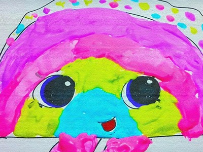 How to Make Awesome Homemade Creative Puffy Paint! Perfect for Painting Shopkins!