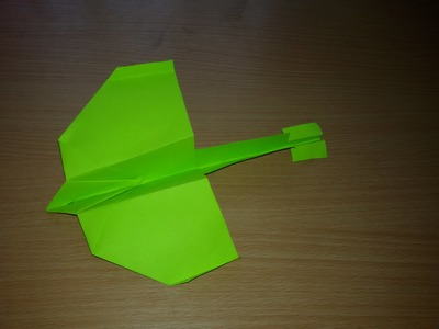 HOW TO MAKE DRAGON TAIL PAPER PLANE .origami (HD)