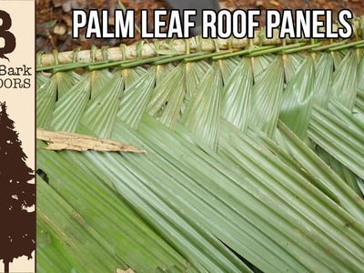 Indigenous Roof Panels: Life In The Amazon Jungle