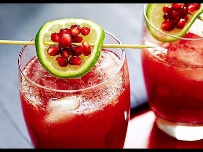 Make your own pomegranate juice!