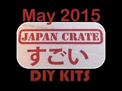 May 2015 Japan Crate DIY CANDY KITS - with yoyomax12
