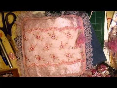 My Shabby-Chic Cushion Tutorial - jennings644