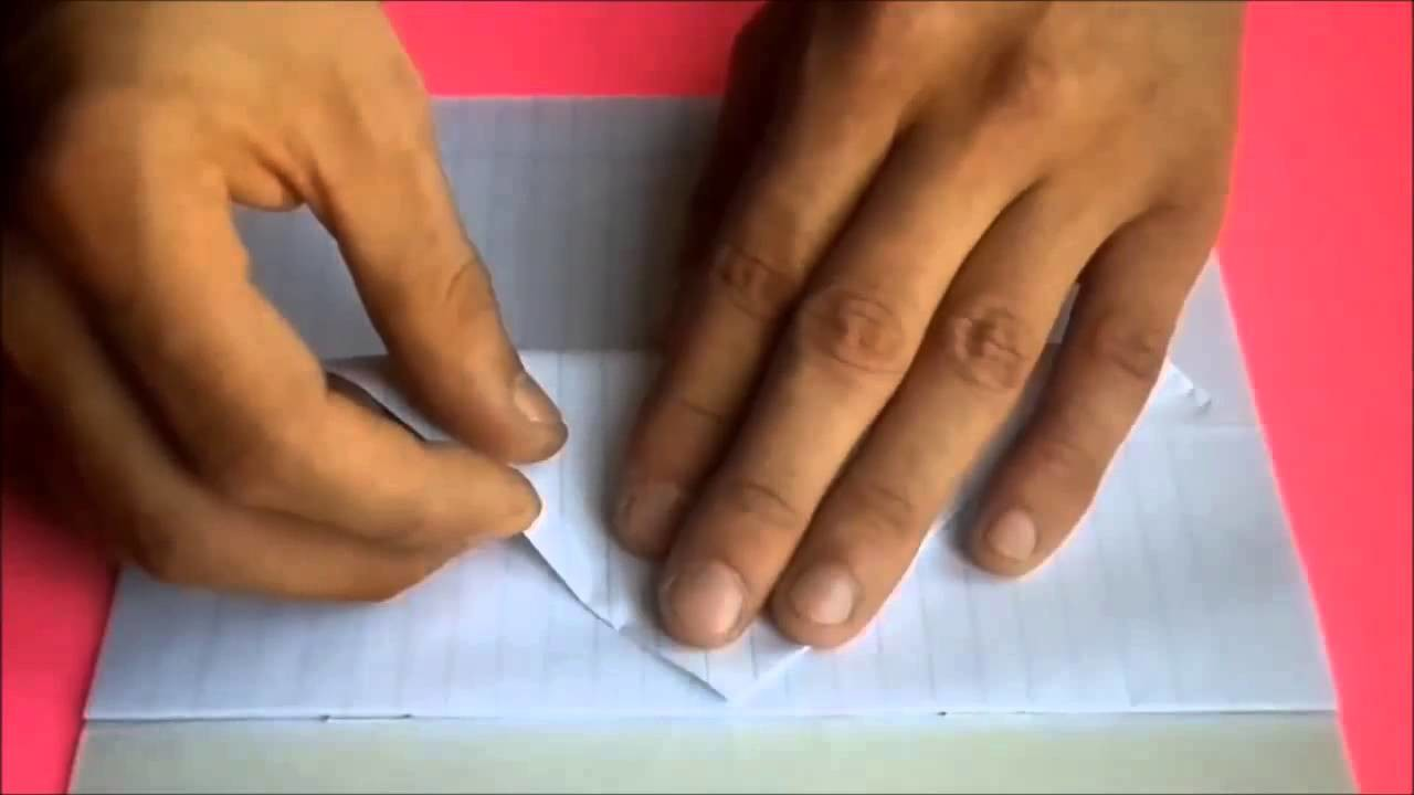 Origami envelope dog paper  Ideas for a personal diary  Do it yourself