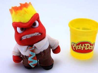 Play Doh Anger Stop Motion Inside Out! Disney Pixar Playdough Animación de Inside Out