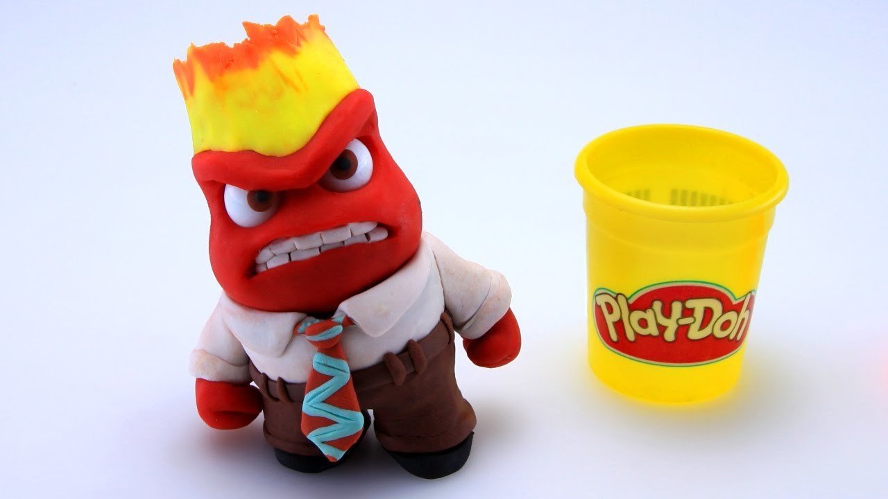 Play Doh Anger Stop Motion Inside Out! Disney Pixar Playdough Animación de Inside Out