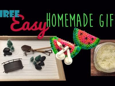 Three Easy Handmade Gifts: Zen Garden, Earphone Holder & DIY Sugar Scrub