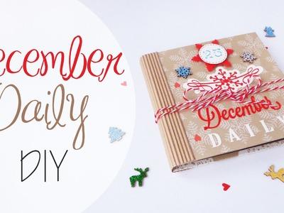 Tutorial: Diario Natalizio - December Daily DIY