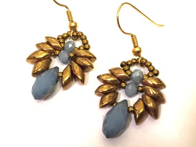 Video Tutorial - DIY - Beaded Earrings with Mags