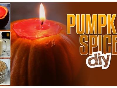 3 Pumpkin Spice DIYs - Do It, Gurl