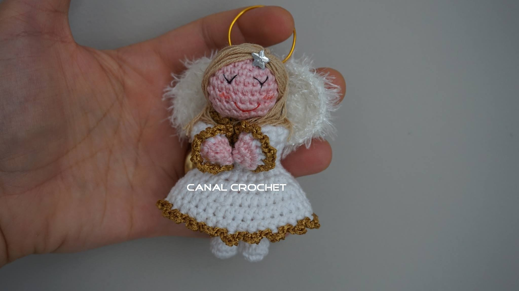 Angelito amigurumi tutorial