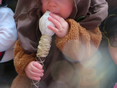 Baby Ewok Costume: Easy how to
