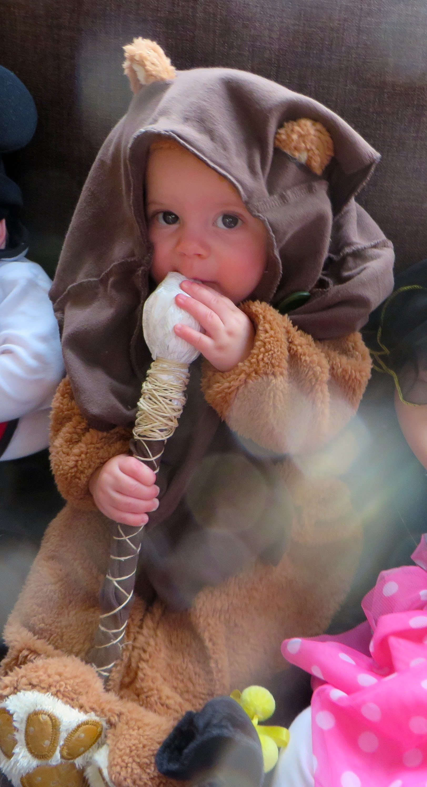 Baby Ewok Costume: Easy how to