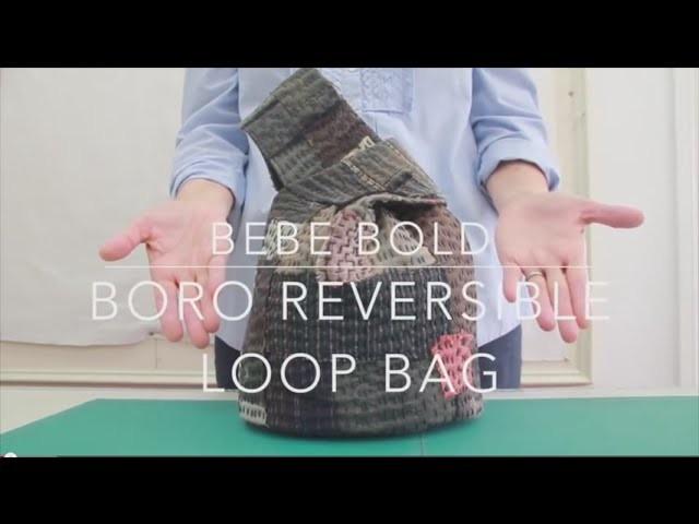 Boro Inspired Reversible Loop Bag