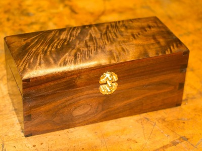 Building a Dovetailed Wooden Box