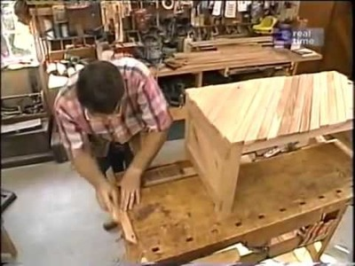 Coffee Table - Part 2 - New Yankee Workshop Norm Abram
