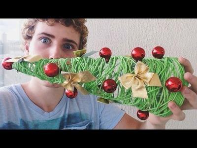 DIY #15: Árvore de natal de barbante (super fácil)