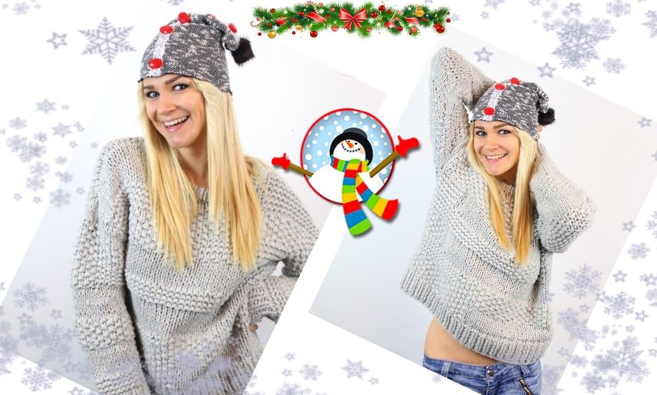 Diy Christmas Gift! Diy No Sew Beanie! Easy, Cheap, Cute!