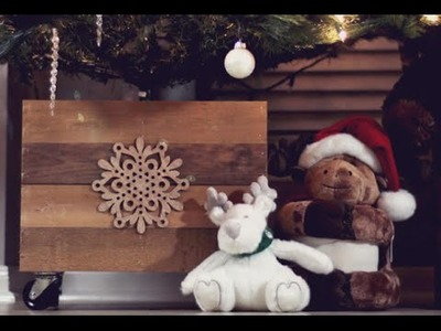 DIY Christmas Tree Stand Box