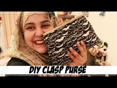 ✂ DIY Clasp Purse.Clutch