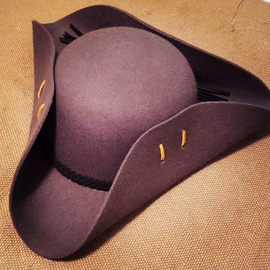 DIY Cocked Hat (Tricorn Hat)