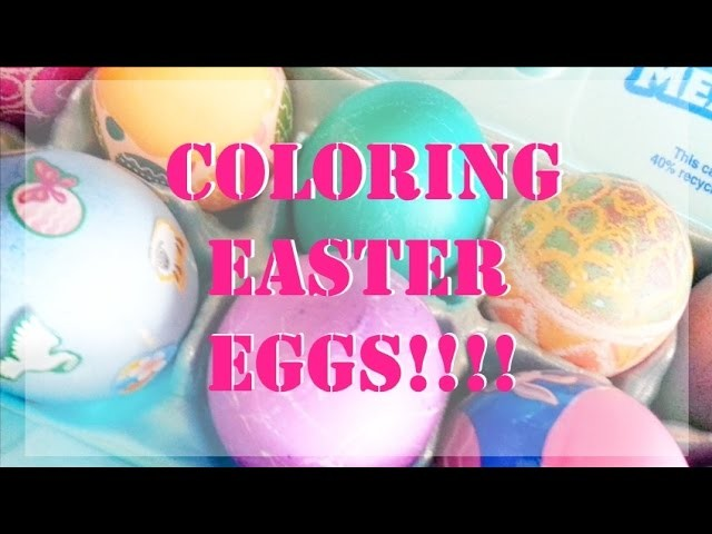 DIY: Coloring Easter Eggs with PAAS Egg Decorating Kit!
