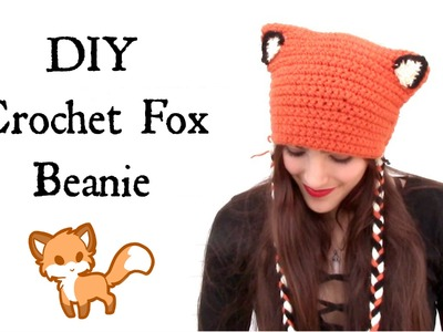 DIY Crochet: Fox Beanie