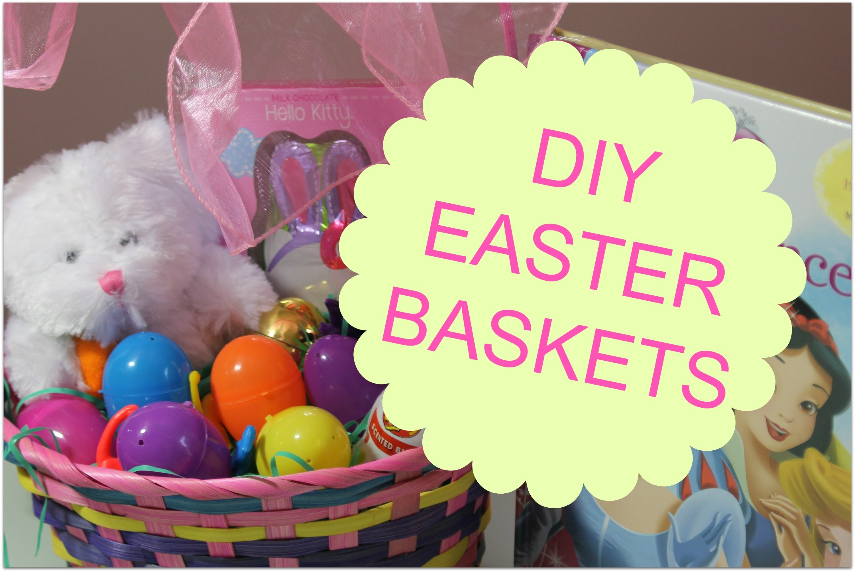 DIY Easter Basket- Quick and Easy!!