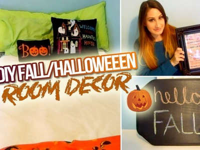 DIY Fall.Halloween Room Decor 2014!
