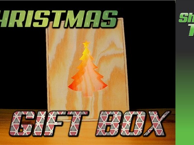 DIY Glowing Christmas Gift Box