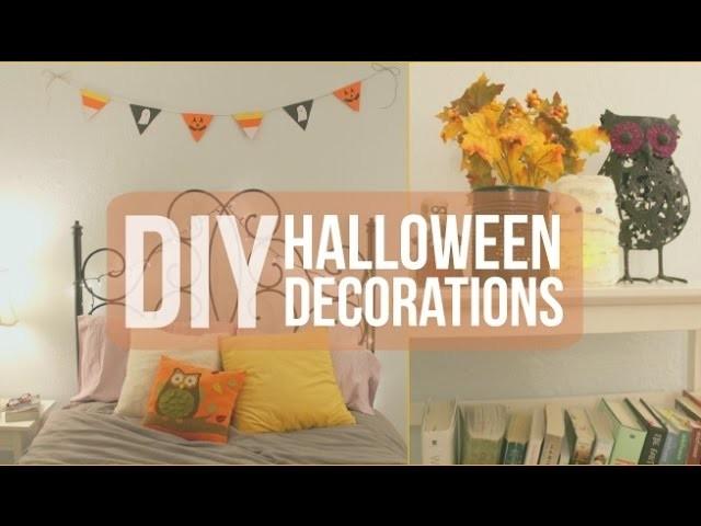 DIY Halloween Decorations | Kassidy Marina