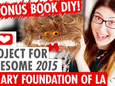 DIY Monster Book of Monsters - The Library Foundation of LA - P4A 2015