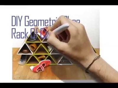 DIY Shoe Rack Cardboard | Quick Simple Steps