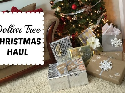 DOLLAR TREE CHIC CHRISTMAS   Wrapping Haul & More