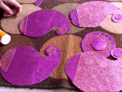 Easy Rangoli Making Idea For Diwali Decoration