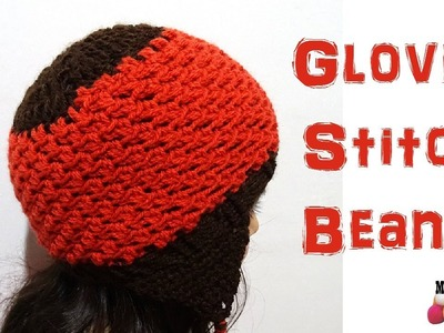 Glover Stitch Beanie - Left Handed  Crochet Tutorial