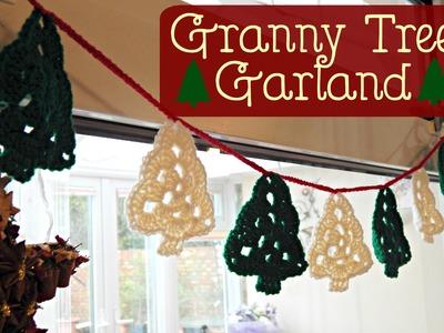 Granny Tree Garland Bunting How To Tutorial. Crochet. ¦ The Corner of Craft