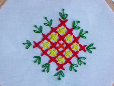 Hand Embroidery: Double Cross Stitch