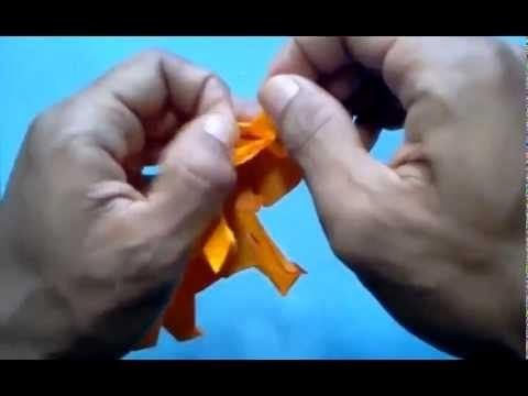 Hand Made Art Tutorial In Origami Elephant Satoshi Kamiya Part 6